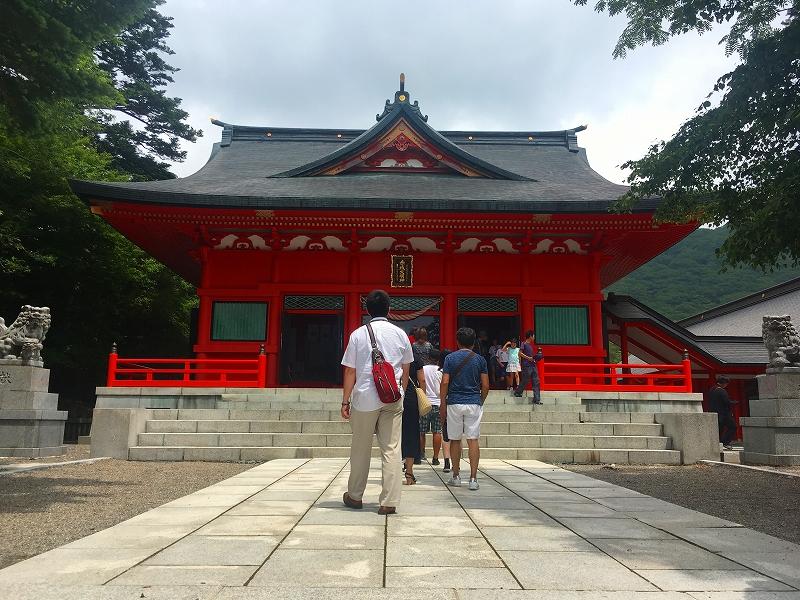 上毛三社(榛名神社・赤城神社・妙義神社)ツアーの画像