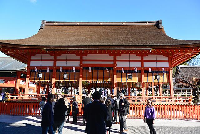 伏見稲荷大社の外拝殿