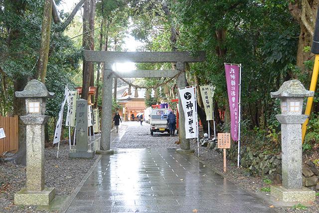 神明神社・鳥居