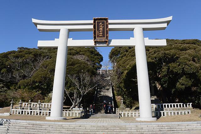 大洗磯前神社・第2の鳥居