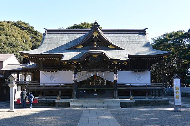 酒列磯前神社・拝殿