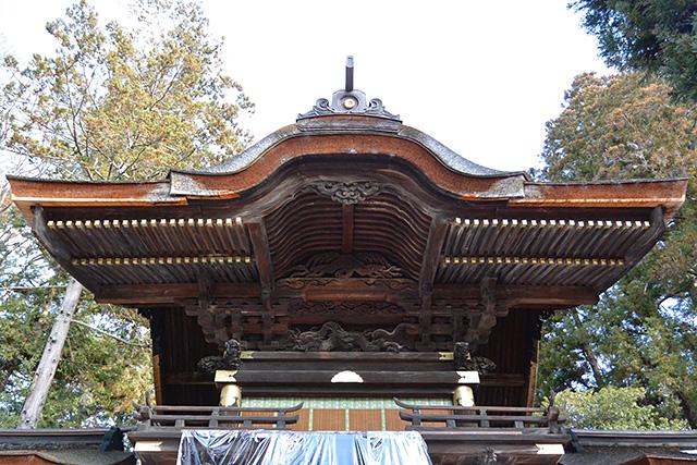 二重楼門づくり幣拝殿