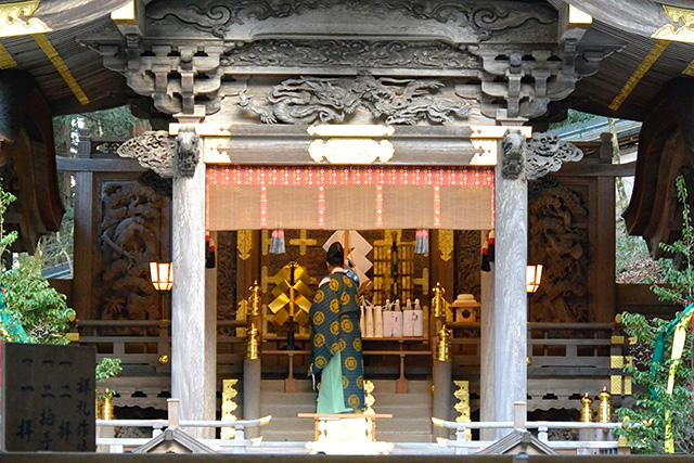 上社・本宮「拝殿」