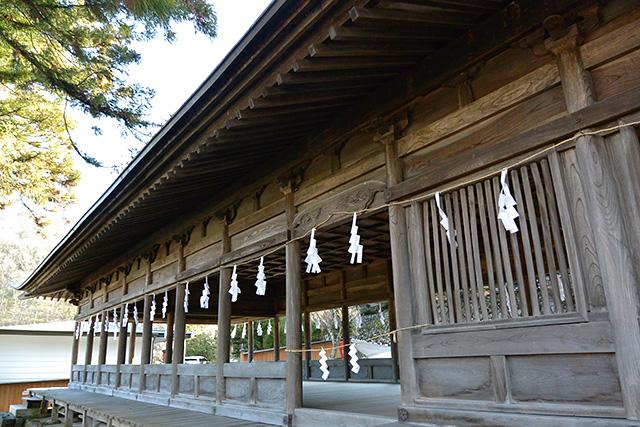 上社・前宮「十間廊」