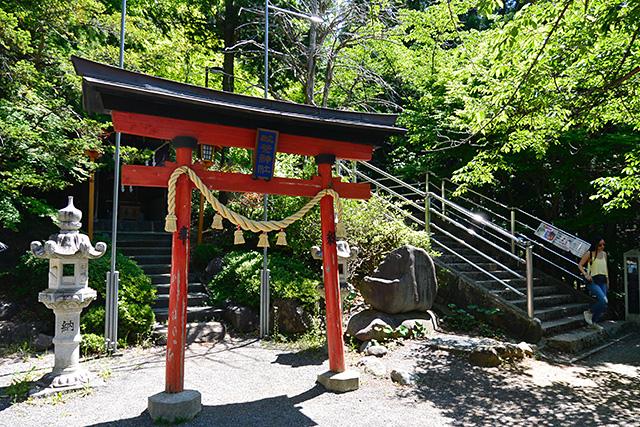 新倉富士浅間神社・咲くや姫階段