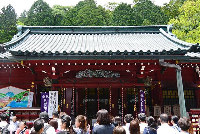 箱根神社の御本殿