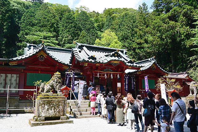 箱根神社の神門