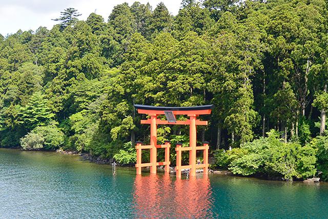 箱根神社の大鳥居(平和の鳥居)