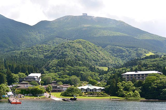 箱根園港と駒ケ岳ロープウェー