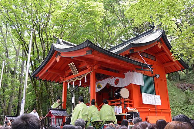 九頭龍神社(本宮)月次祭(例大祭)