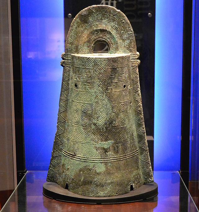 古代出雲歴史博物館の銅鐸