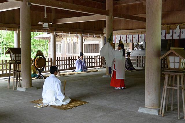 美保神社の朝御饌祭