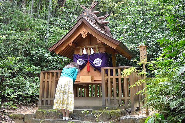 八重垣神社の天鏡神社
