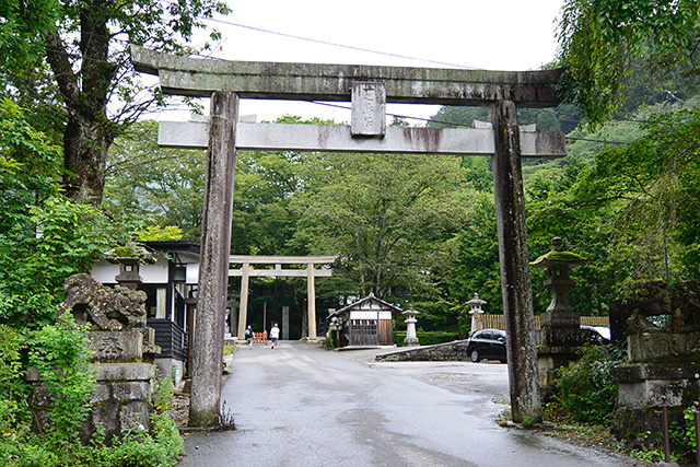 古峯神社の鳥居