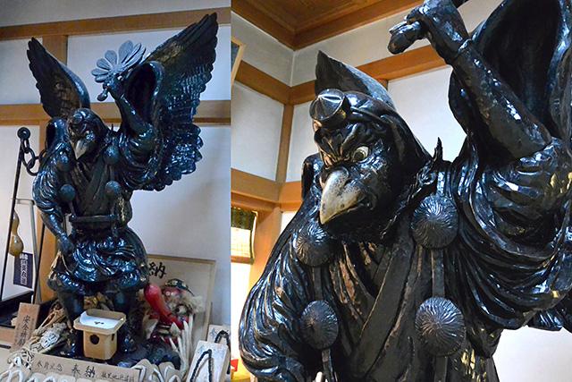 古峯神社の烏天狗