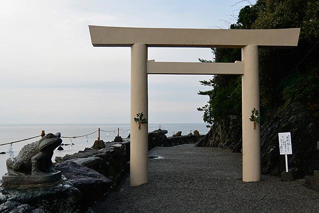 二見興玉神社の二の鳥居