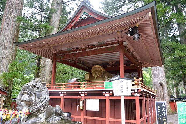 二荒山神社・神楽殿