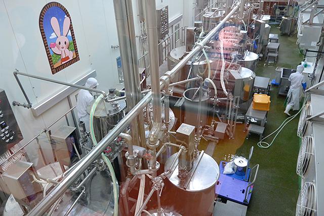 ボイル・冷却室