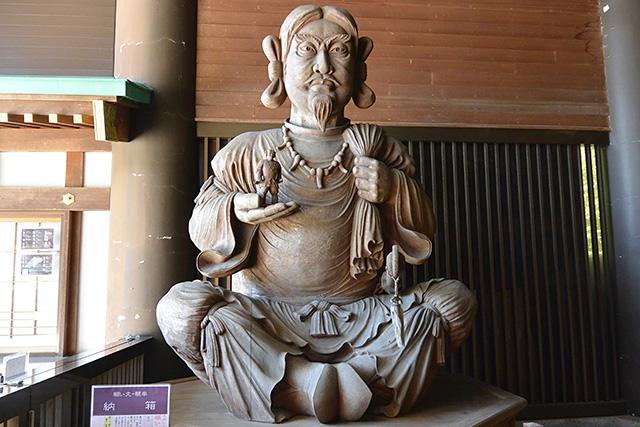 常陸国出雲大社・オオクニヌシの像