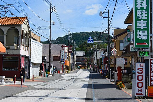 笠間稲荷神社・門前通り