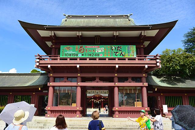 笠間稲荷神社・楼門