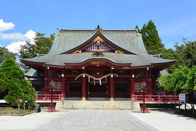 笠間稲荷神社・拝殿