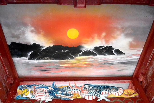 御岩神社・日天図