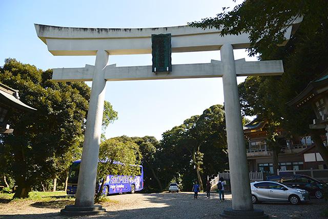 大甕神社・鳥居