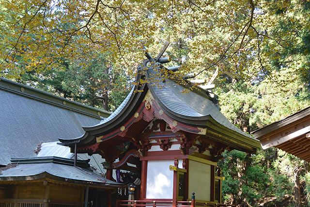 河口浅間神社の本殿