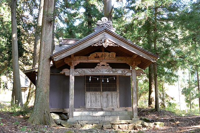 河口浅間神社・山神社