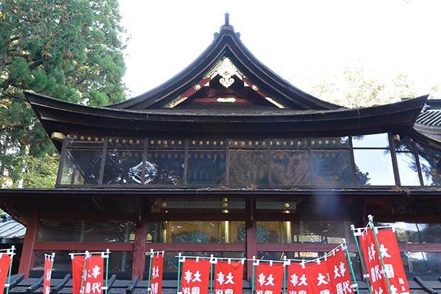 北口本宮富士浅間神社・本殿