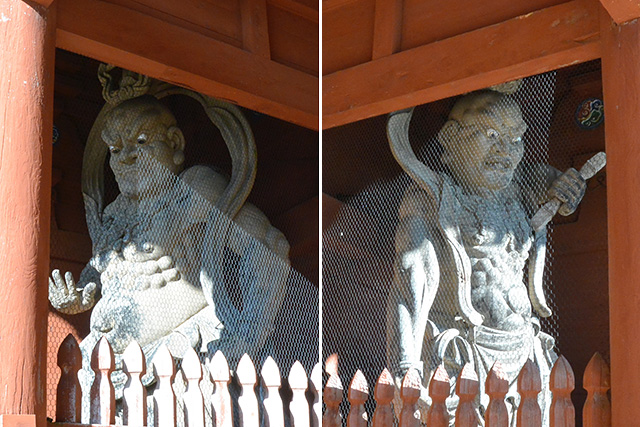 大門の金剛力士像