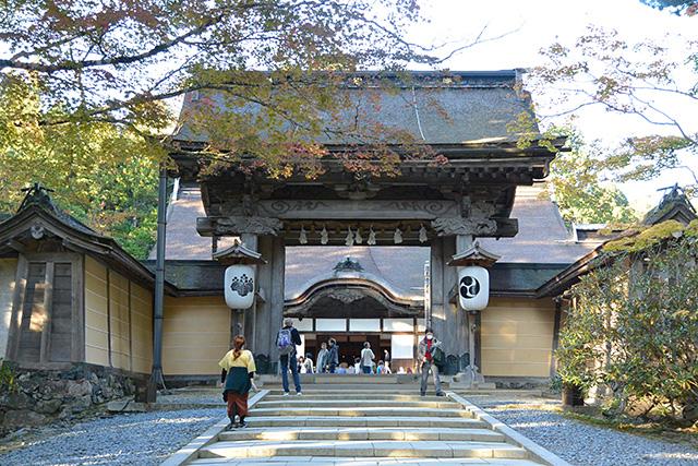 金剛峯寺の表門