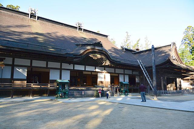 金剛峯寺の主殿