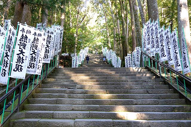 熊野本宮大社・185段の参道