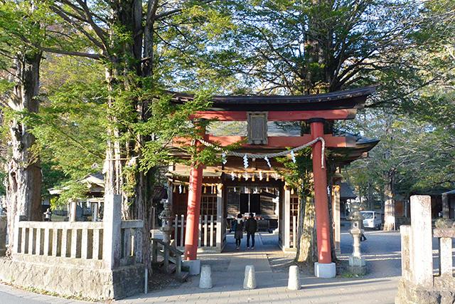 忍野八海浅間神社・鳥居