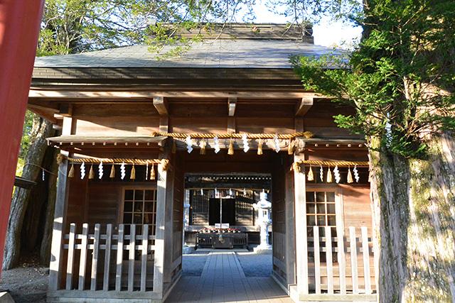 忍野八海浅間神社・神門