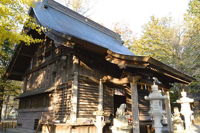 忍野八海浅間神社の社殿
