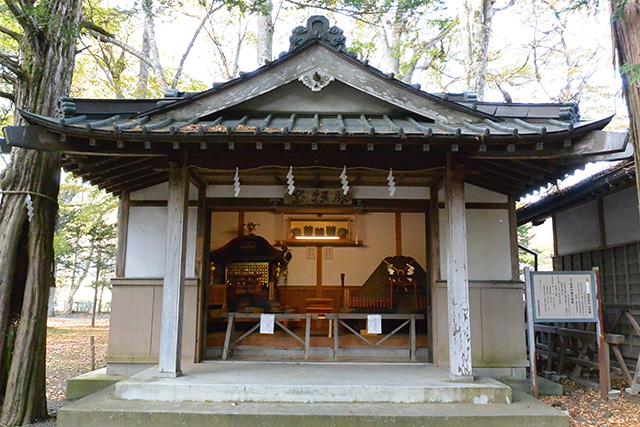 忍野八海浅間神社の宝仏殿