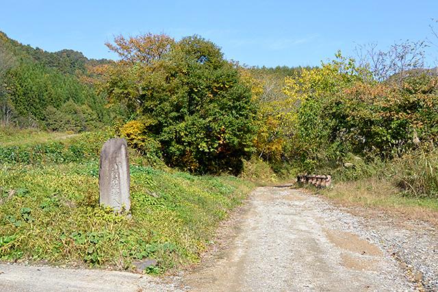 桜木姫のお墓の入口