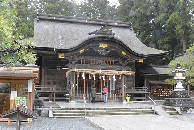 小國神社・拝殿