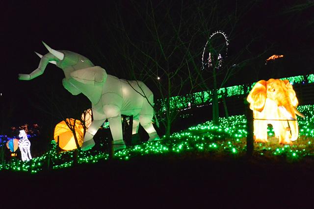 さがみ湖イルミニオン・光の動物園