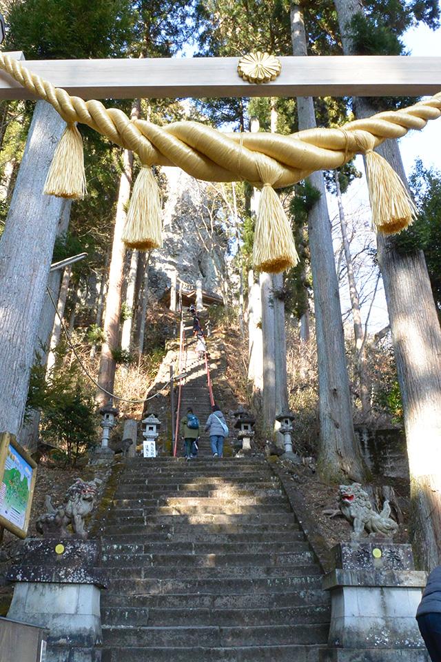 中之嶽神社・入り口