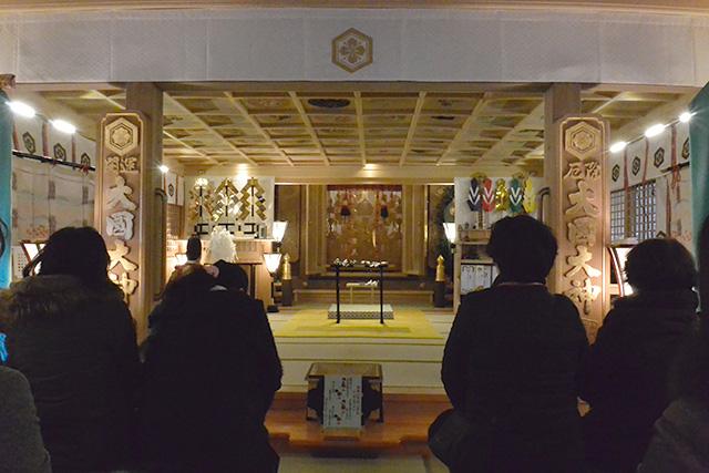 甲子大国神社内