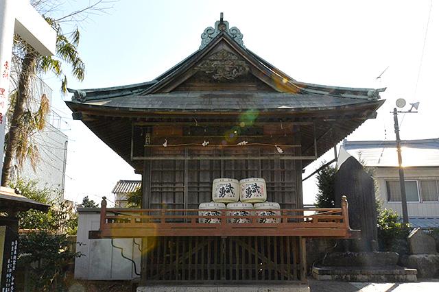 健田須賀神社・神楽殿