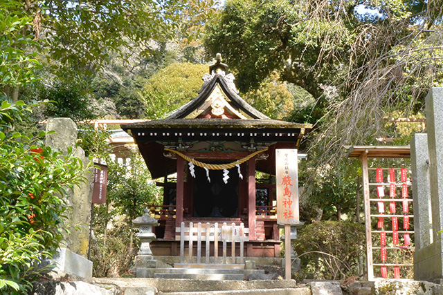 筑波山神社・厳島神社