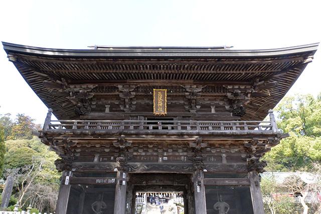 筑波山神社・隋神門