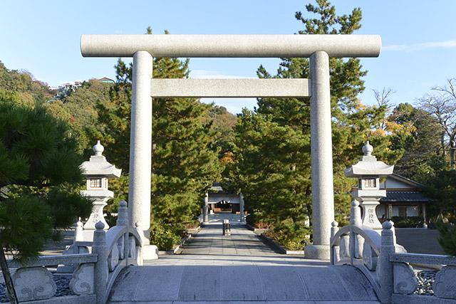 籠神社・鳥居
