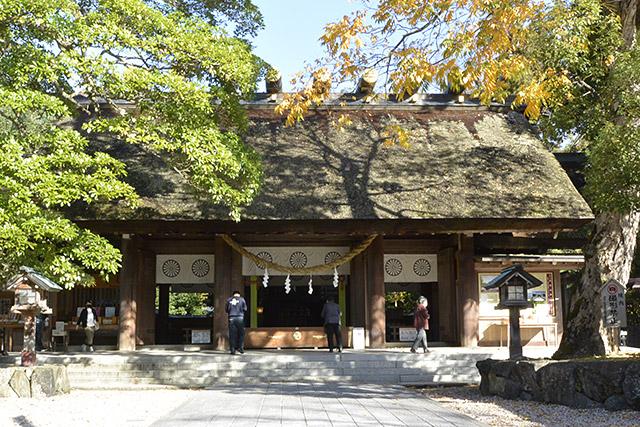 籠神社・拝殿