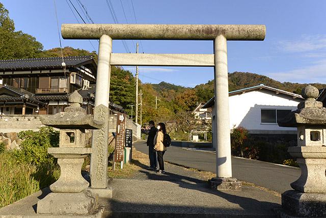 眞名井神社・鳥居